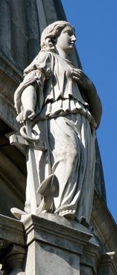 A âncora é o atributo da Esperança.